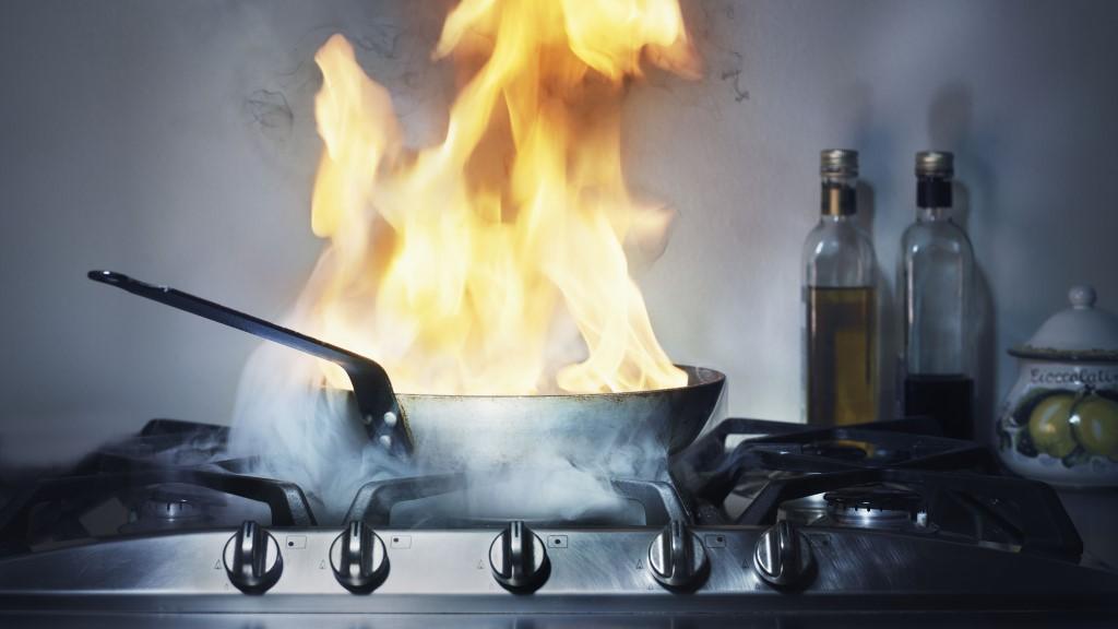 Пожар на кухне