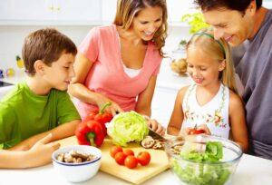 Весна иммунитет семья полезные продукты