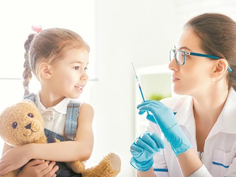 Прививки детям