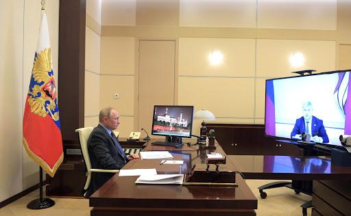 Президент РФ Совещание по коронавирусу