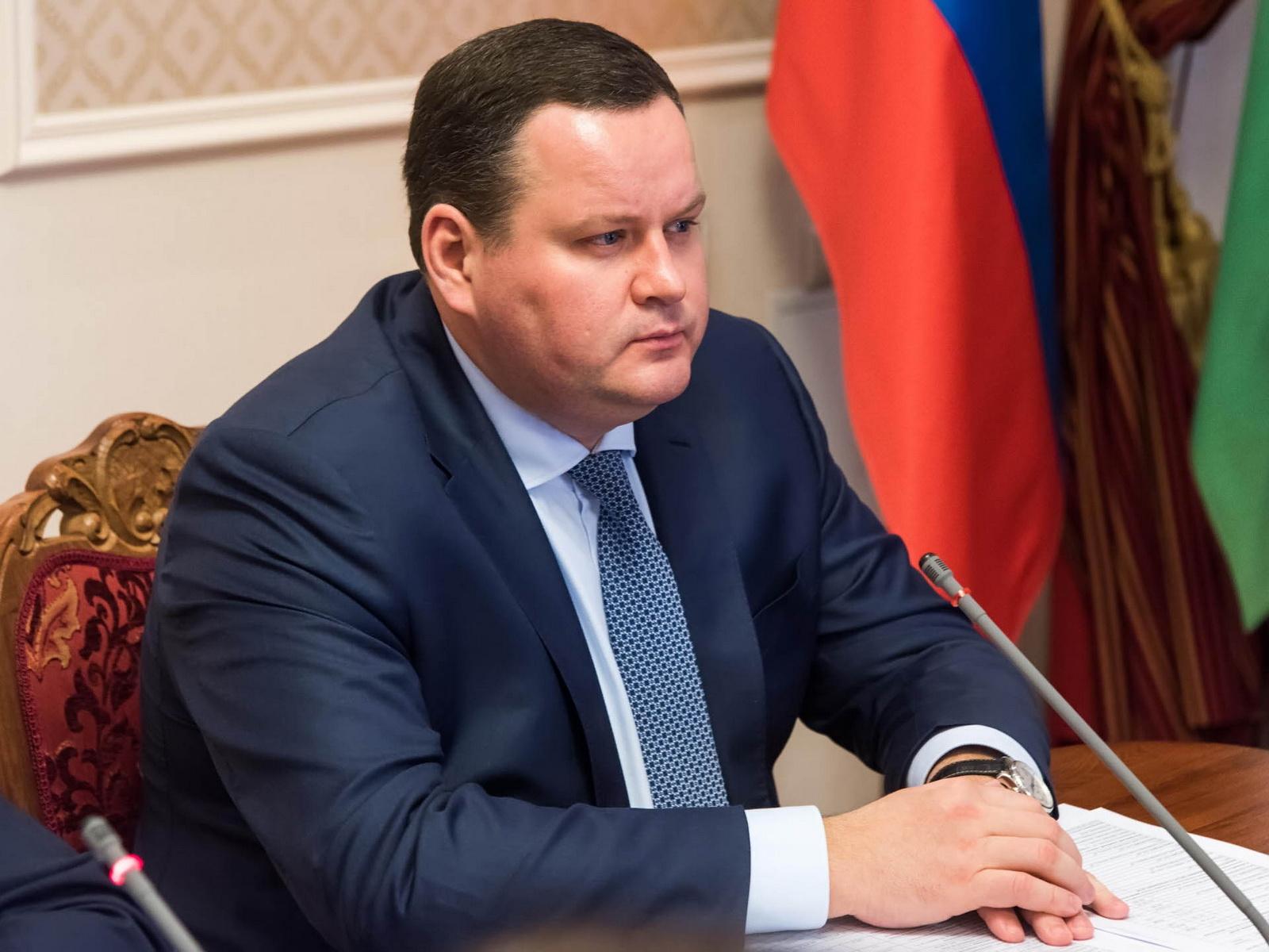 Антон Котяков, министр труда