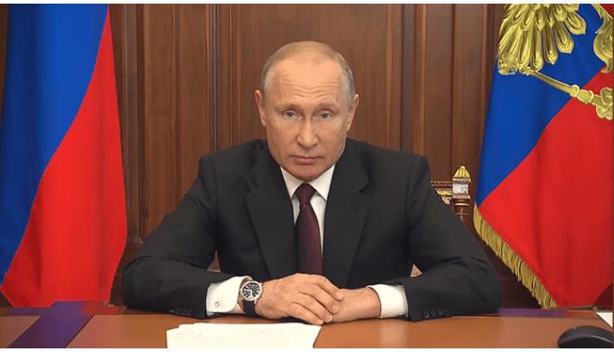 В. Путин объявил о новых выплатах семьям