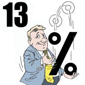Прогрессивная шкала налога на доходы физических лиц