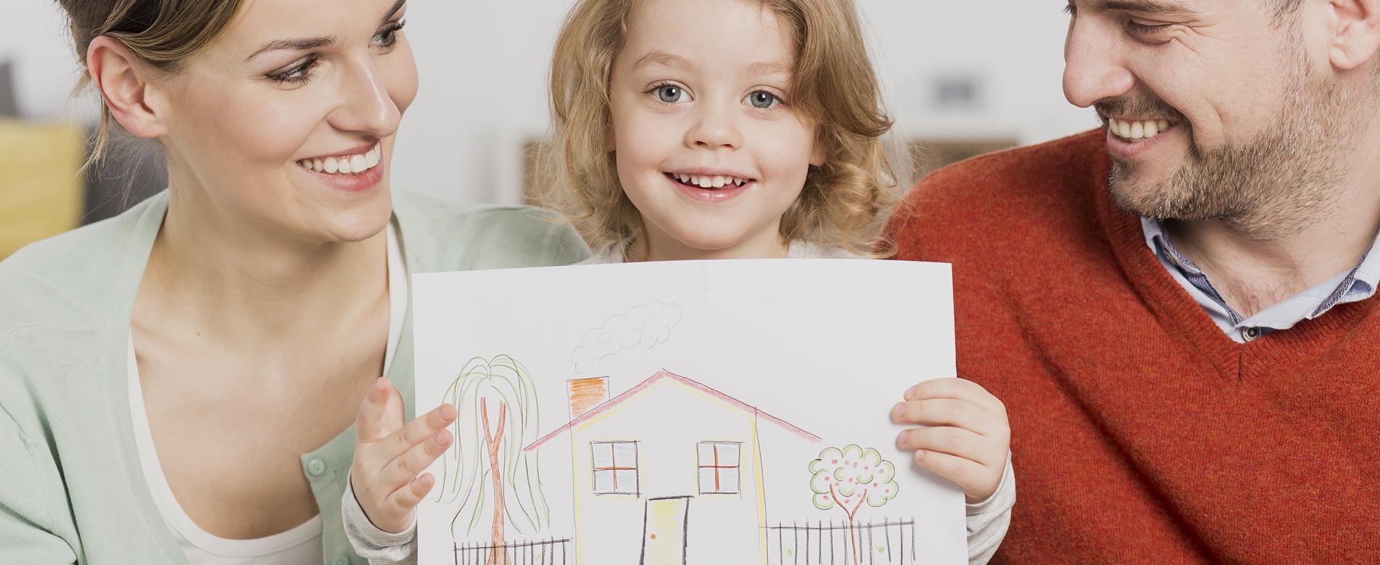Льготная ипотека для молодых семей с детьми