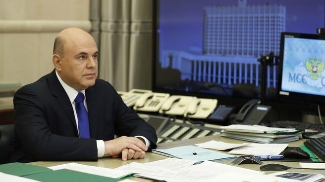 М. Мишустин, премьер-министр