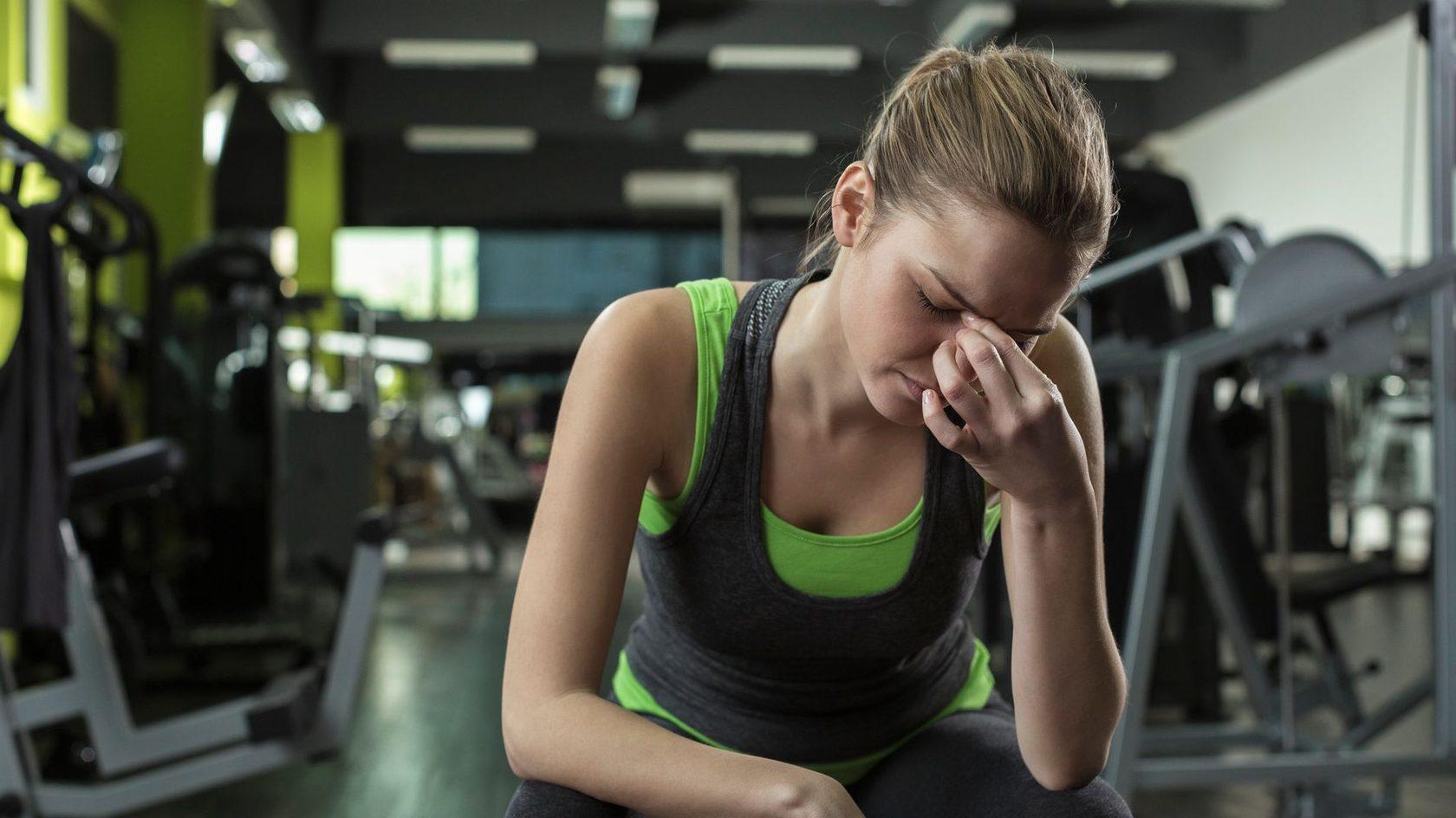 Фитнес при простуде